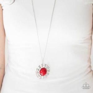 "New! Paparazzi ""My Primary Color"" Red Necklace"